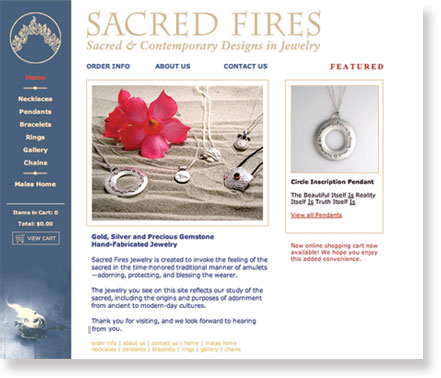 Sacred Fires Jewelry